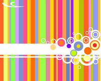 Abstract background. Vector illustration of clolorful elements Royalty Free Stock Photo