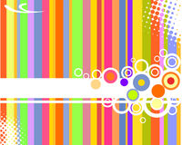 Abstract background. Vector illustration of abstract elements Royalty Free Stock Photo
