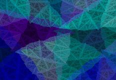 Abstract background. Fractal shapes, patterns and lines Royalty Free Illustration