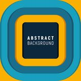 Abstract background. Square banner. Colorful design with a lot of space for your text royalty free illustration
