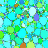 Abstract background with abstract shapes. Vector.  Royalty Free Illustration
