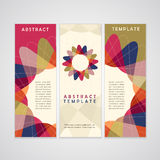 Abstract background advertising banner Royalty Free Stock Photography