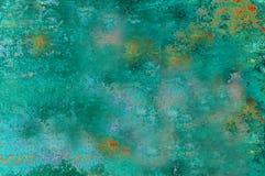 Abstract Background Alien Garden. Blue green abstract suggestive of vegetation. original digital art derived from an original photograph Royalty Free Stock Photos