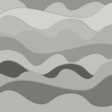 Abstract background. . All elements are separated in edit on white background isolated object abstract. Abstract background. Deepening voluminous objects, from royalty free illustration