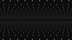 Abstract background with animation moving of dots. Magic flickering dots or glowing flying points.  stock footage