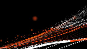 Abstract background animation stock footage