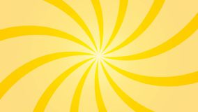 Abstract background with animation of sun beams. Retro radial background. 3d rendering stock video footage