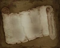 Abstract Background Antique Scroll Tattered & Torn Stock Images