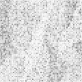 Abstract background with an array of dots and circles. Geometric texture. Monochrome image vector illustration
