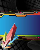 Abstract background with arrows Stock Images