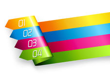 Abstract background with arrows. Abstract background with colorful arrows Stock Photography