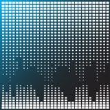 Abstract background art beautiful digital  wave vector illustrations stock illustration