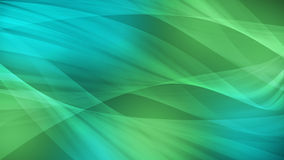 Abstract background art design, smooth wave and green light Stock Photos
