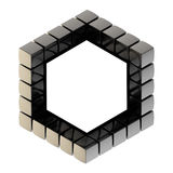 Abstract background as cube structure Royalty Free Stock Photography