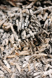 Abstract background of ash Stock Photos