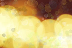 Abstract background. Assorted circles yellow abstract background Royalty Free Stock Photo