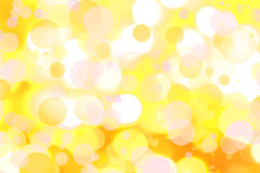 Abstract background. Assorted circles yellow abstract background Royalty Free Stock Image