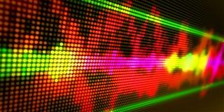 Abstract background audio spectrum stock illustration