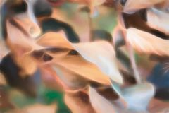 Abstract background of Autumn leaves. With textured overlay royalty free illustration
