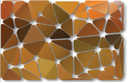 Abstract background autumn triangles. Abstract colorful autumn vector background of the set of triangles royalty free illustration