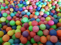 To play with balls of color. Abstract, background, ball, blue, orange, green, color, pink, red, purple, group, round Stock Image