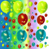 Abstract Background Balloon background. Royalty Free Stock Images