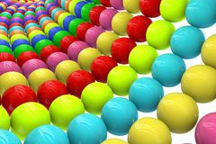 Abstract background from balls Royalty Free Stock Photo