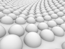 Abstract background balls. Abstract a neutral background 3D balls Royalty Free Stock Image