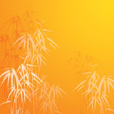 Abstract background with bamboo Royalty Free Stock Image