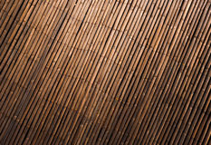 Abstract background - bamboo wall texture Royalty Free Stock Image