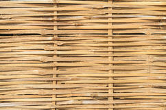 Abstract background from bamboo weave wall Stock Images