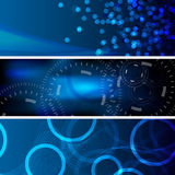 Abstract background banner01. Collection of abstract technology and business backgrounds stock illustration