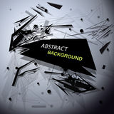 Abstract background banner. Design element  illustration Stock Illustration