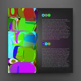 Abstract background for banner. Templates for placards, banners, flyers, presentations, reports. EPS10. Abstract background for banner. Templates for placards vector illustration