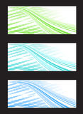 Abstract Background Banner in Three Color Combinat Royalty Free Stock Photos