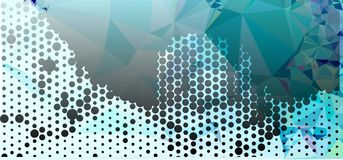 Abstract background for banners, texture, flyer, layout, postcard. Abstract background with dots. Horizontal banner, texture, flyer, layout, postcard. Vector Vector Illustration