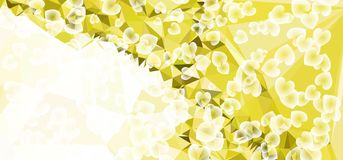 Abstract background for banners, texture, flyer, layout, postcard. Abstract background with dots. Horizontal banner, texture, flyer, layout, postcard. Vector Royalty Free Stock Photo