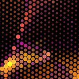 Abstract background for banners, texture, flyer, layout, postcard. Abstract background with dots. Horizontal banner, texture, flyer, layout, postcard. Vector Royalty Free Stock Images