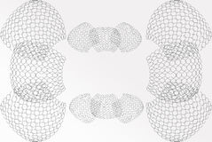 Abstract background base on wireframe shape royalty free stock images