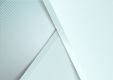 Abstract background basic geometry light grey layered and overla Stock Photos