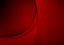 Abstract background basic geometry red layered and overlap and s Stock Images
