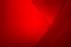 Abstract background basic geometry red layered and overlap and s. Hadow element  vector illustration eps10 Stock Photos