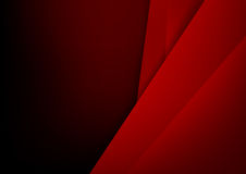 Abstract background basic geometry red layered and overlap. And shadow element  vector illustration eps10 Royalty Free Stock Photography