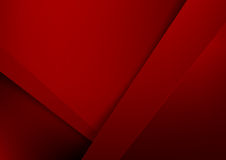 Abstract background basic geometry red layered and overlap. And shadow element  vector illustration eps10 Stock Images