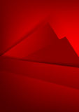 Abstract background basic geometry red layered and overlap. And shadow element  vector illustration eps10 Stock Photos