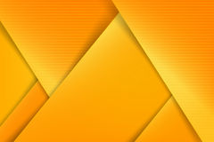 Abstract background basic geometry yellow layered and overlap. And shadow element   illustration eps10 Stock Photo