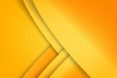 Abstract background basic geometry yellow layered and overlap an. D shadow element  vector illustration eps10 Royalty Free Stock Photography
