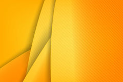 Abstract background basic geometry yellow layered and overlap. And shadow element  vector illustration eps10 Royalty Free Stock Photo