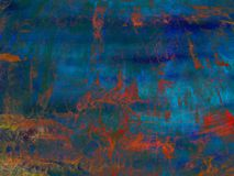 Abstract background on the basis of texture shabby paint Stock Photography