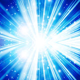 Abstract background. With beams of light Royalty Free Stock Photography